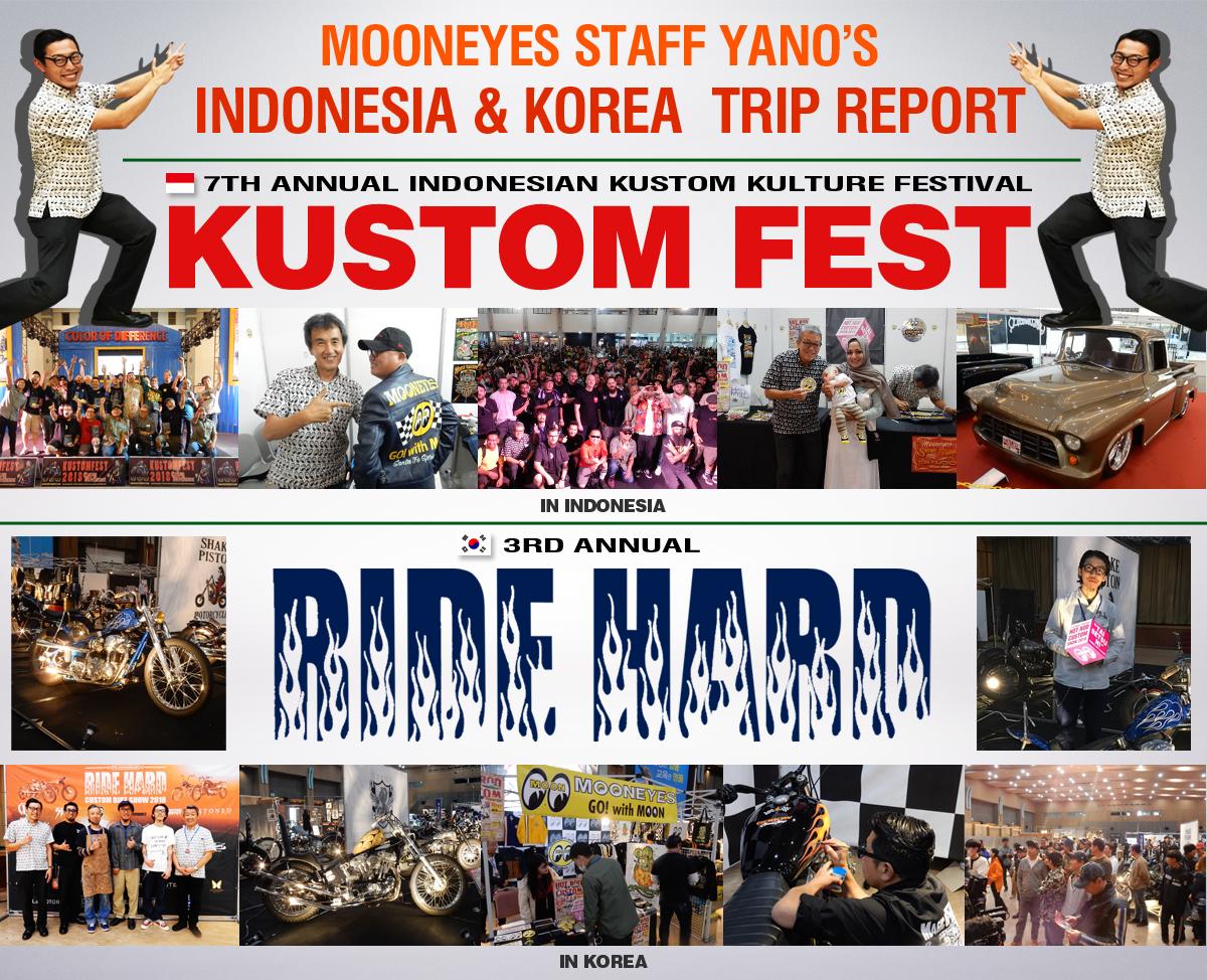 Kustom Fest 2018 & RIDE HARD 2018 Trip Report!!