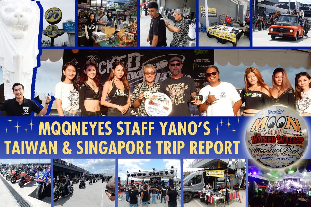 Wicked Wallop 2019 Singapore and Taiwan Trip