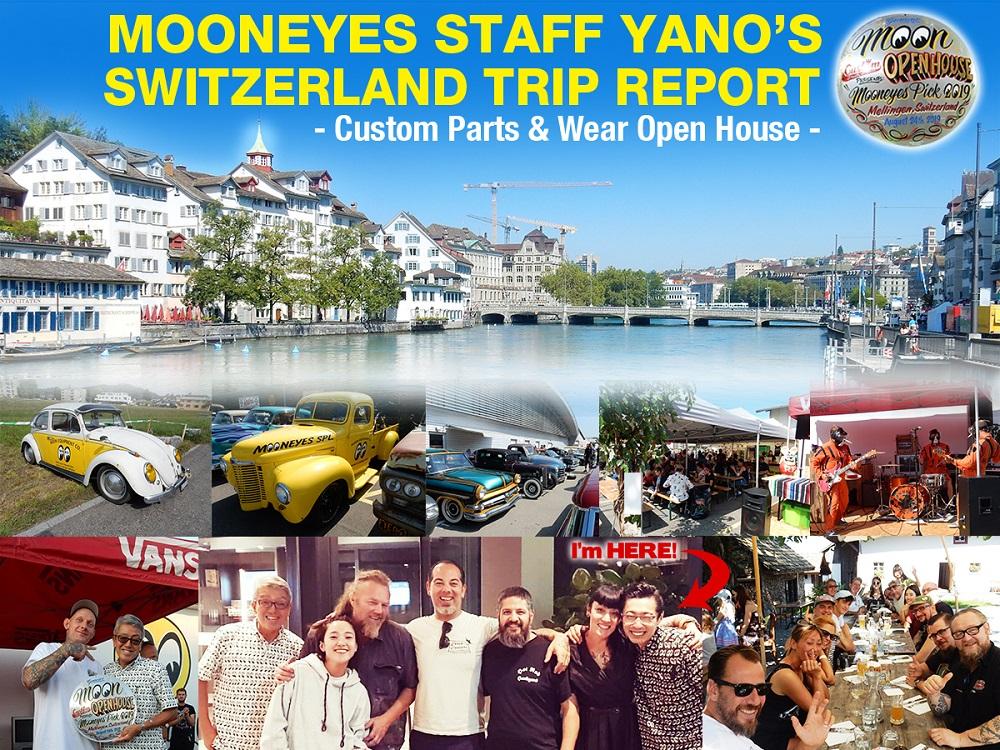 Custom Parts & Wear Open house 2019 Trip Report in Switzerland!!!
